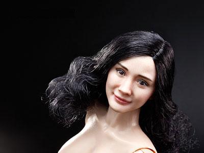 1/6 女性素体 Ver.3.0 カーリーヘア アジア女性ヘッド付