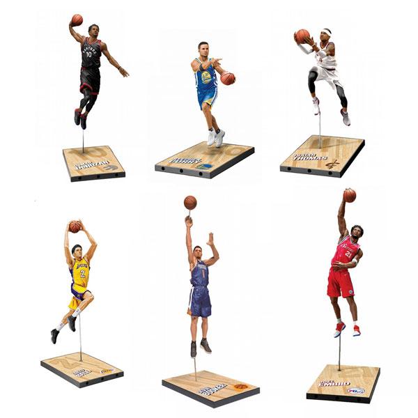 マクファーレン スポーツ TMP/ NBA 7インチ フィギュア シリーズ32: 8体入りカートン[マクファーレントイズ]【送料無料】《在庫切れ》