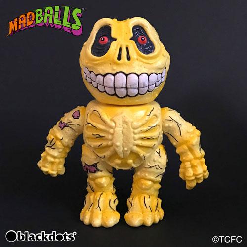 MADBALLS SOFUBI COIN BANK Skull Face Original Color