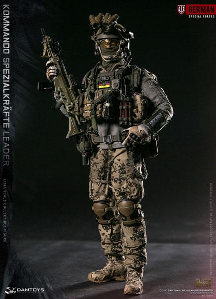 1/6 エリートシリーズ KSK (ドイツ陸軍特殊作戦コマンド) リーダー