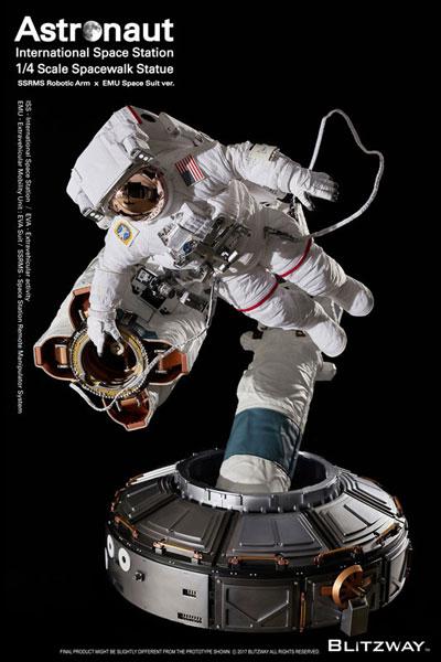 アストロノーツ ISS EMU Ver. スパーブ スケール スタチュー『The Real (ザ・リアル)』