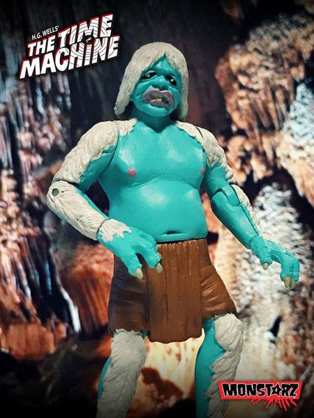 モンスターズ/ タイムマシン 80万年後の世界へ: モーロック 3.75インチ レトロ アクションフィギュア ケイブバトル ver