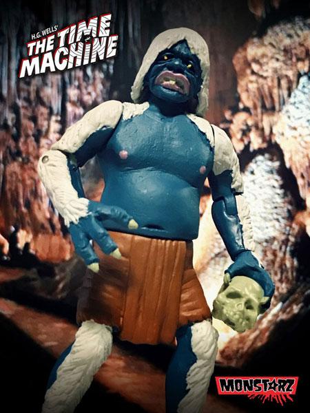 モンスターズ/ タイムマシン 80万年後の世界へ: モーロック レトロ アクションフィギュア ミッドナイトアタック ver