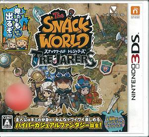 3DS スナックワールド トレジャラーズ[レベルファイブ]【送料無料】《在庫切れ》