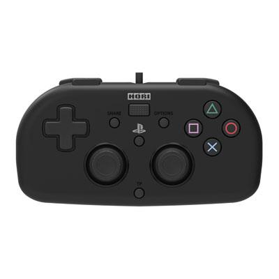 ワイヤードコントローラーライト for PlayStation4 ブラック[ホリ]【送料無料】《取り寄せ※暫定》
