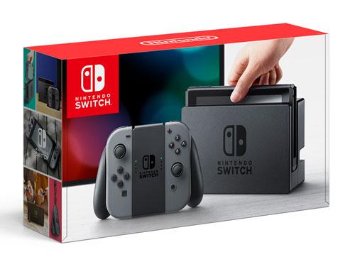 Nintendo Switch Joy-Con(L)/(R) グレー (本体)[任天堂]【送料無料】《発売済・在庫品》