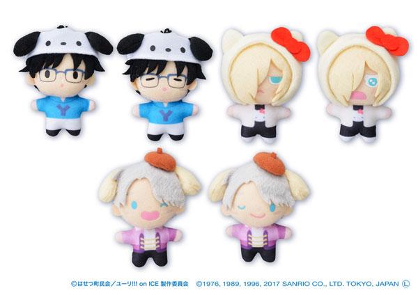 Yuri on Ice × Sanrio characters ぷちぬいマスコット 6個入りBOX[セガ・インタラクティブ]【送料無料】《在庫切れ》