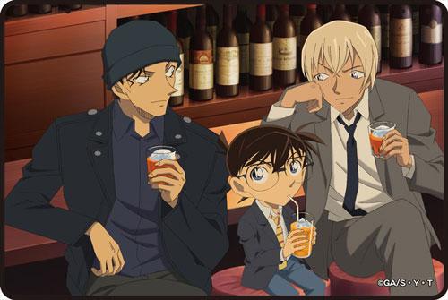 名探偵コナン 3wayブランケット 3:江戸川コナン&赤井秀一&安室透[ゼロジーアクト]《在庫切れ》