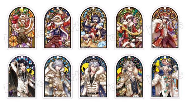 夢王国と眠れる100人の王子様 ステンドグラス風アクリルキーホルダー 10個入りBOX[フロンティアワークス]《発売済・在庫品》