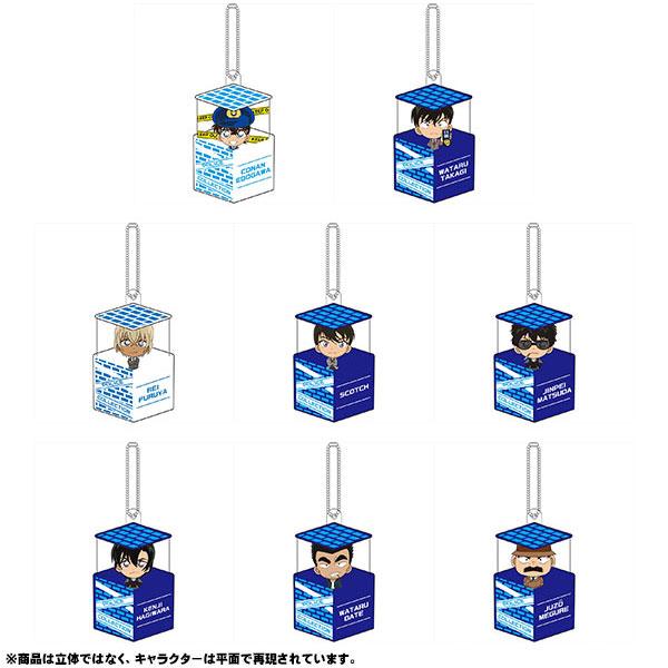名探偵コナン キャラ箱Vol.6 警察コレクション 8個入りBOX(再販)[ゼロジーアクト]《11月予約》