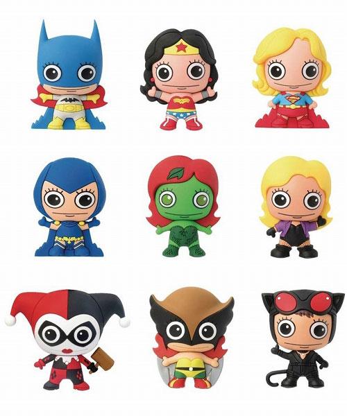 DCコミックス/ レーザーカット フィギュラル・キーリング ガールズ: 24個入りBOX[Monogram]【送料無料】《在庫切れ》