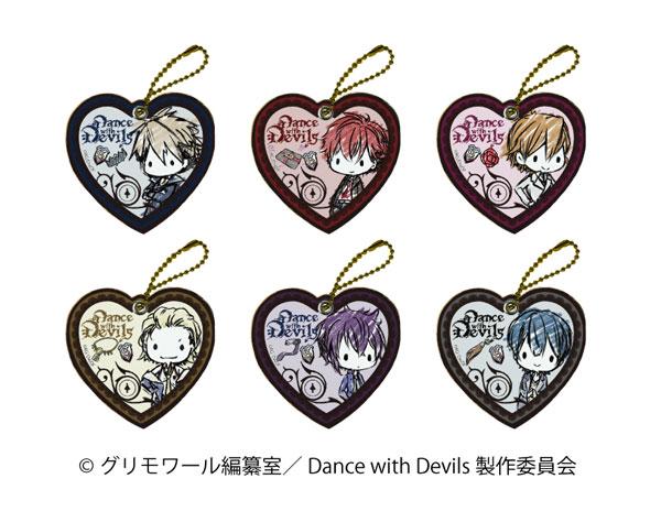 キャラレザーチャーム 「Dance with Devils」01/(グラフアートデザイン) 6個入りBOX[A3]《在庫切れ》