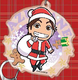 アクリルビッグキーホルダー ハイキュー!! クリスマスシリーズ 07 東峰[タカラトミーアーツ]《在庫切れ》