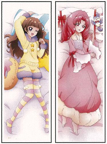 Go!プリンセスプリキュア まくらカバー~ いっしょにおやすみ ~きらら&トワ 復刻版[東映アニメーション]《在庫切れ》