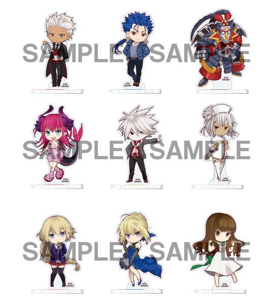 Fate/EXTELLA アクリルスタンドコレクション 第2弾 9個入りBOX[ソル・インターナショナル]《在庫切れ》