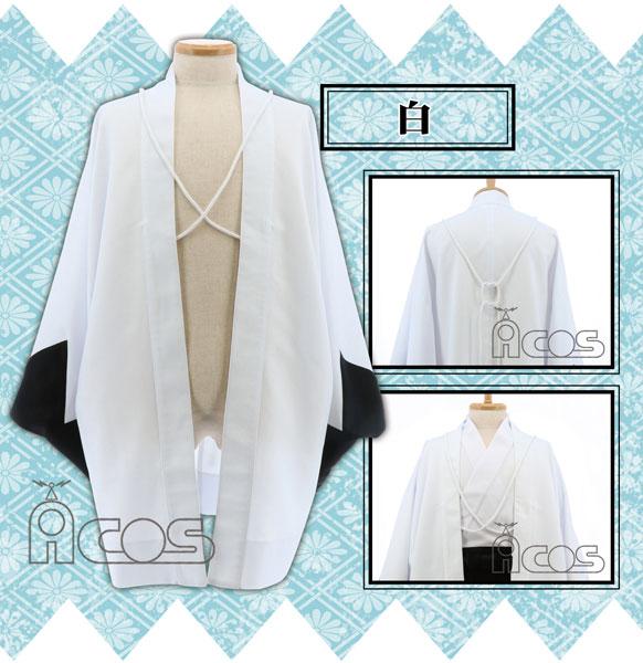 ノンキャラオリジナル 衣装 だんだら羽織 白(Freeサイズ)[ACOS]《在庫切れ》