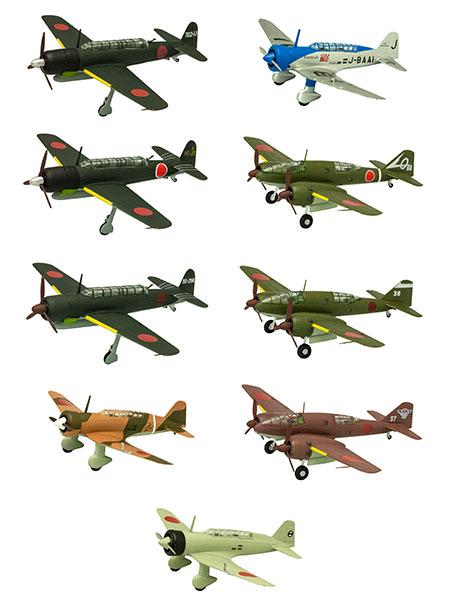 1/144 ウイングキットコレクション vol.16 日本の偵察機 10個入りBOX (食玩)