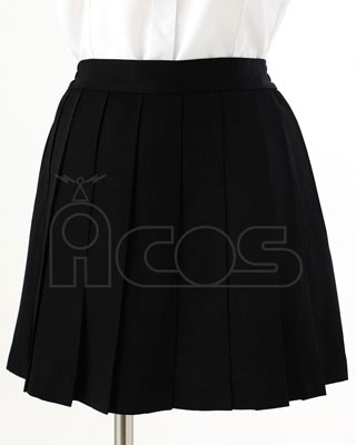 ノンキャラオリジナル スカート(黒)ver.3 XLサイズ(再販)[ACOS]《在庫切れ》
