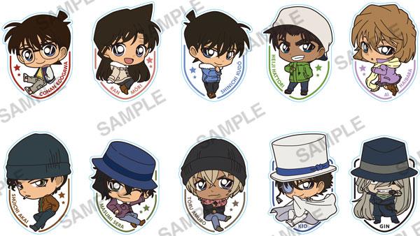 名探偵コナン ししゅうますこっとコレクション 10個入りBOX(再販)[KADOKAWA]《在庫切れ》