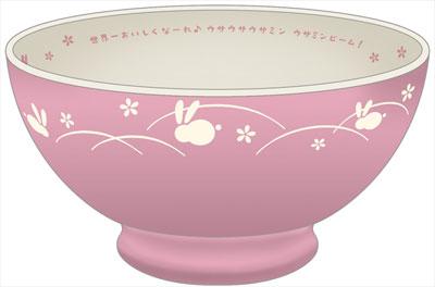 ミニッチュ アイドルマスター シンデレラガールズ ウサミン茶碗[ファット・カンパニー]《発売済・在庫品》
