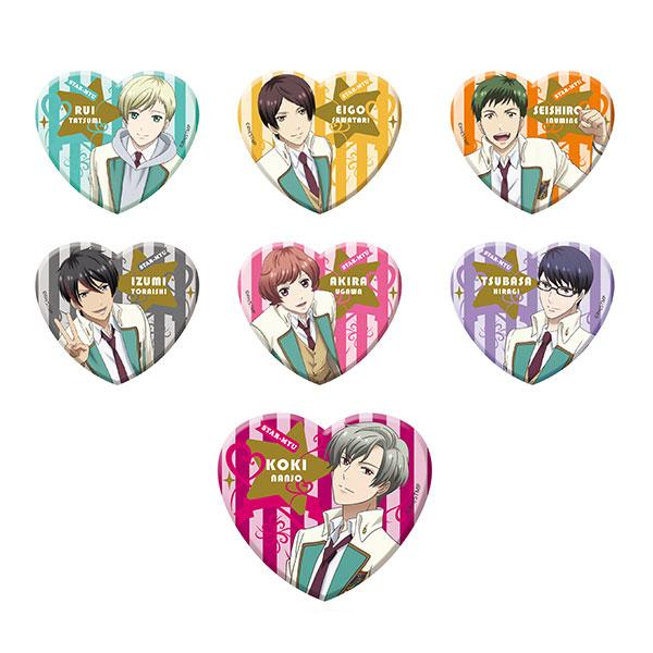 【特典】TVアニメ『スタミュ』 ハート型ラメアクリルバッジvol.3 6個入りBOX[メディコス・エンタテインメント]《在庫切れ》