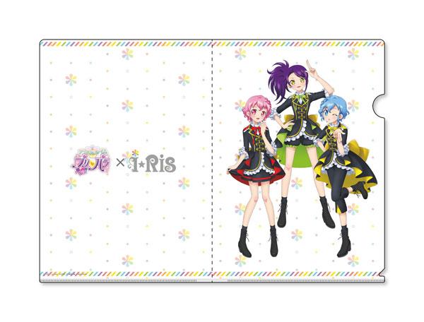 アイドルタイムプリパラ × i☆Ris DressingPafe A4クリアファイル[グルーヴガレージ]《発売済・在庫品》