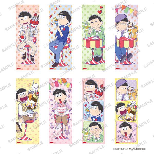 おそ松さん ロングポスターコレクション パフェ松 8個入りBOX[KADOKAWA]《在庫切れ》