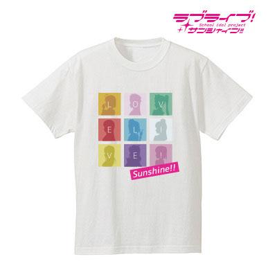 ラブライブ!サンシャイン!! シルエットモノグラムTシャツ(ホワイト)/レディース(サイズ/S)(再販)[アルマビアンカ]《09月予約》