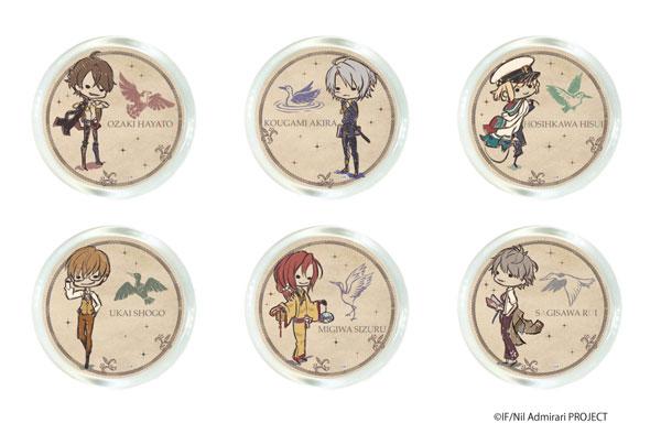 マルキャラマグネット「ニル・アドミラリの天秤」01/グラフアートデザイン 6個入りBOX[A3]《在庫切れ》