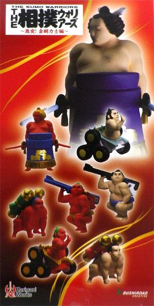 THE 相撲ウォリアーズ ~激突!金剛力士編~ 8個入りBOX[ブシロードクリエイティブ]《在庫切れ》