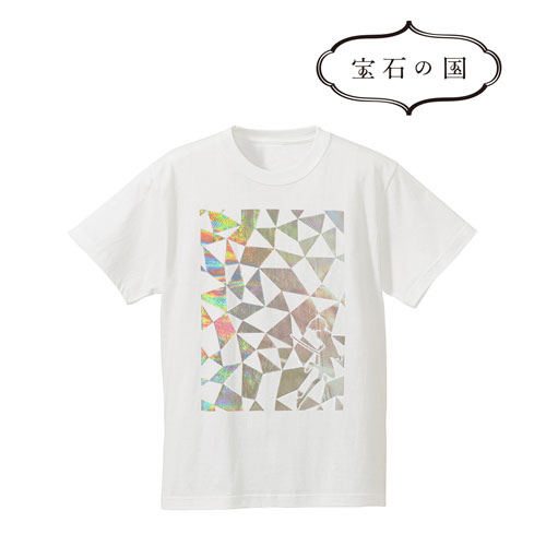 宝石の国 ダイヤモンドTシャツ/メンズ(サイズ/XL)(再販)[アルマビアンカ]《在庫切れ》