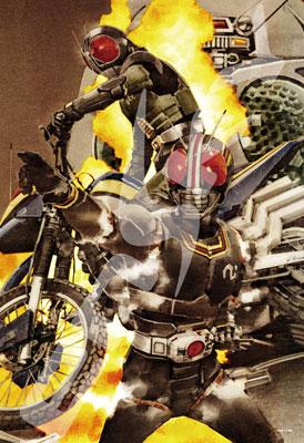 ジグソーパズル 仮面ライダーシリーズ 菅原芳人WORKS この世に光ある限り 300ピース (300-1330)[エンスカイ]《取り寄せ※暫定》