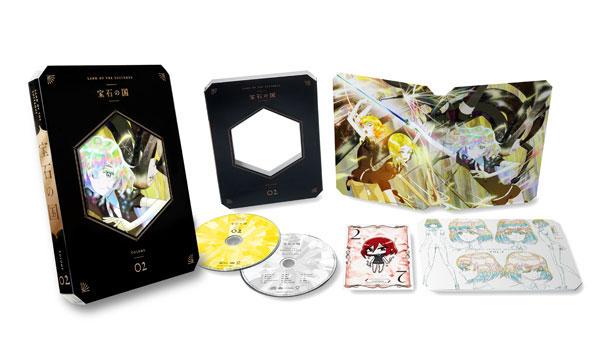 BD 宝石の国 Vol.2 Blu-ray 初回生産限定版[東宝]《在庫切れ》