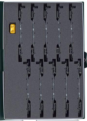 10-1432 コキ106+107 コンテナ無積載 10両セット(再販)[KATO]《07月予約》