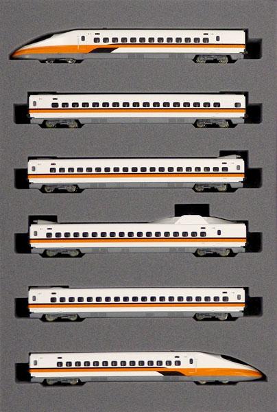 10-1476 台湾新幹線700T 6両基本セット 特別企画品(再販)[KATO]【送料無料】《秋月予約》