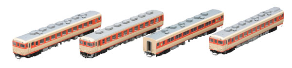 98283 国鉄 キハ58系急行ディーゼルカー(由布)セット(4両)[TOMIX]【送料無料】《発売済・在庫品》