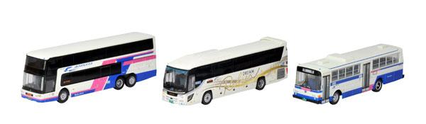 ザ・バスコレクション 西日本ジェイアールバス発足30周年記念3台セット[トミーテック]《発売済・在庫品》