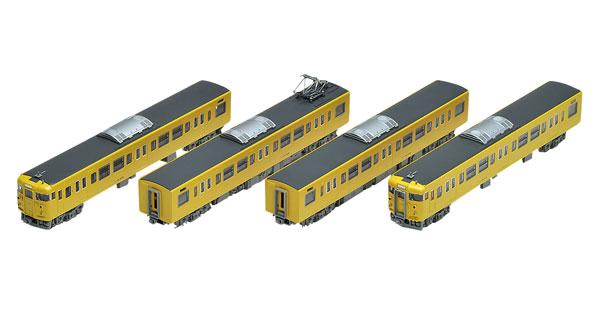 98286 JR 115 2000系近郊電車(JR西日本40N更新車・黄色)基本セット(4両)[TOMIX]【送料無料】《発売済・在庫品》