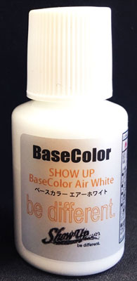 SHOW UP カスタムカラーシリーズ ベースカラー エアーホワイト マイクロボトル[シグナル]《在庫切れ》