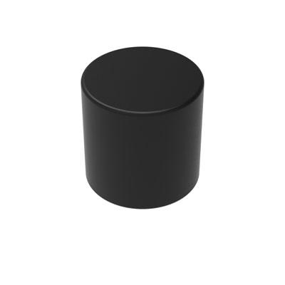 ネオジム磁石 丸形ブラック 直径3mm×高さ3mm(10個入)[ハイキューパーツ]《発売済・在庫品》
