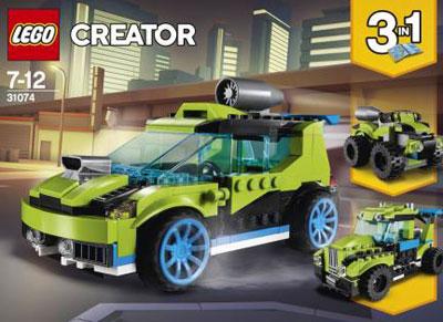 レゴ クリエイター ロケットラリーカー(31074)[レゴジャパン]《在庫切れ》