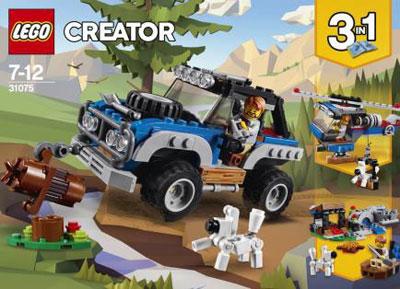 レゴ クリエイター 青いオフローダー(31075)[レゴジャパン]《在庫切れ》