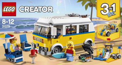 レゴ クリエイター サーファーのキャンプワゴン(31079)[レゴジャパン]《在庫切れ》