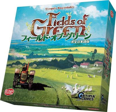 ボードゲーム フィールド・オブ・グリーン 完全日本語版[アークライト]《在庫切れ》