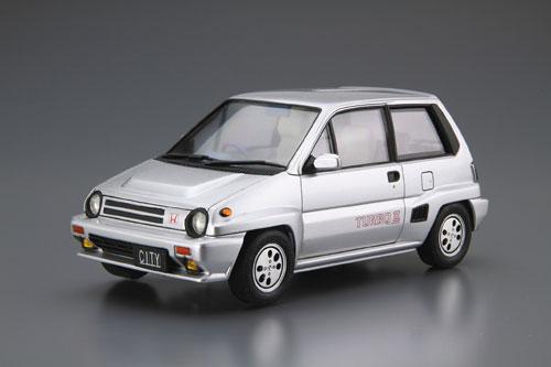 ザ・モデルカー No.60 1/24 ホンダ AA シティターボII '85 プラモデル[アオシマ]《発売済・在庫品》