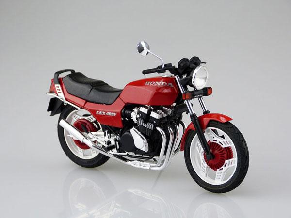 1/12 バイク No.53 ホンダ CBX400F カスタムパーツ付き プラモデル[アオシマ]《在庫切れ》