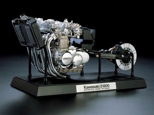 1/6 カワサキ Z1300 エンジン プラモデル[タミヤ]《在庫切れ》