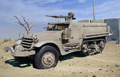 1/35 イスラエル国防軍 IDF M3ハーフトラックw/20mm イスパノ・スイザHS.404機関砲 プラモデル[ドラゴンモデル]《在庫切れ》