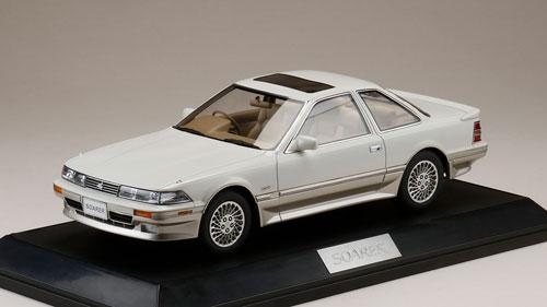 1/18 トヨタ ソアラ 3.0GT リミテッド (MZ20) 1990 クリスタルホワイトトーニングII[ホビージャパン]【送料無料】《在庫切れ》