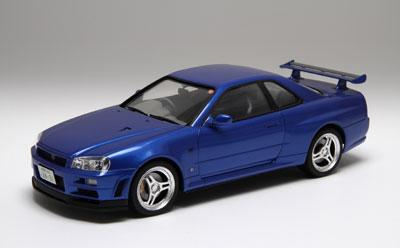 【特典】1/24インチアップシリーズ No.260 スカイライン GT-R(R34) カーネームプレート付き プラモデル[フジミ模型]《取り寄せ※暫定》